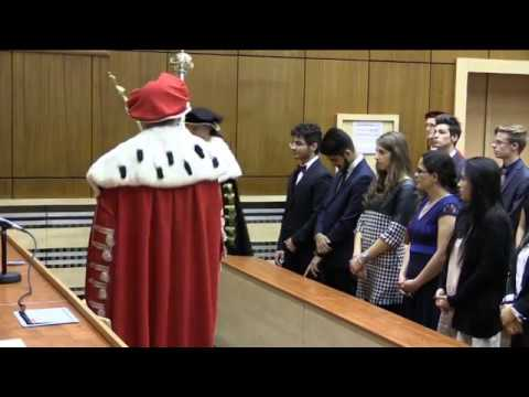 Matriculation Ceremony of International Students at the Faculty of Medicine in Pilsen