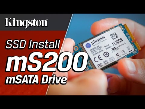 Installing the SSDNow mS200 mSATA Drive