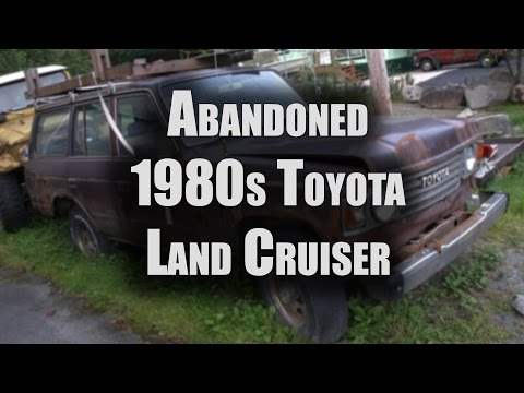 Rusted Out 1980s Land Cruiser