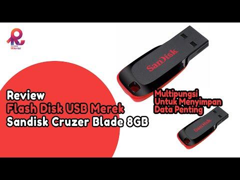 Review Flash Disk USB Merek Sandisk Cruzer Blade 8GB #ReviewMilenial