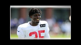 Curtis Riley takes advantage of wide open Giants safety battle