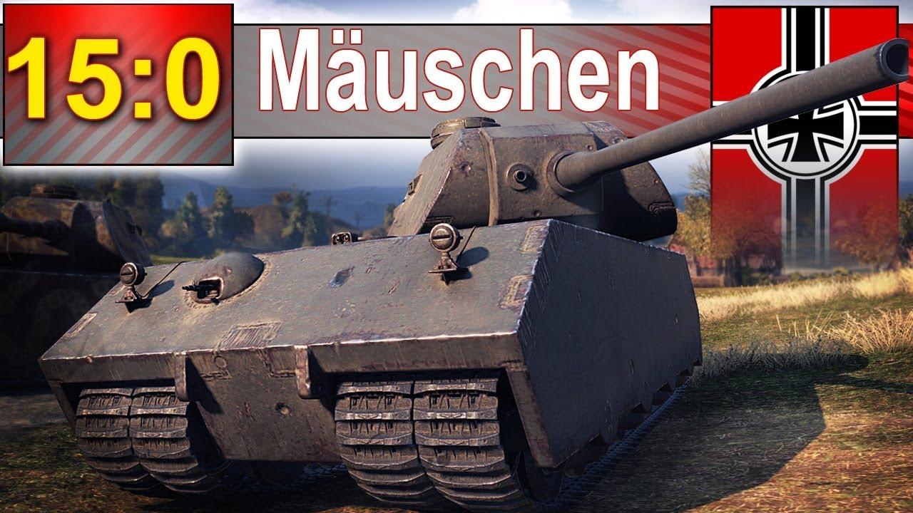 Mäuschen – matko jedyno! Co to się staneło? ;) – World of Tanks