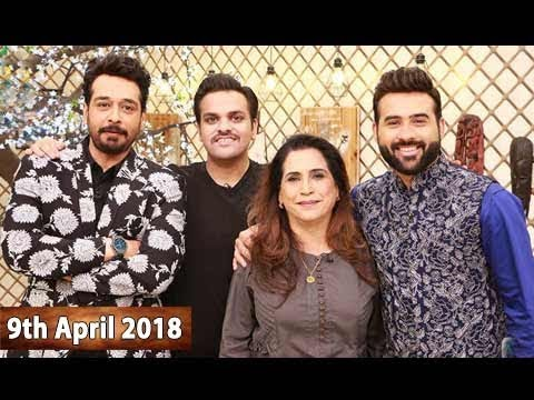 Salam Zindagi With Faysal Qureshi - 9th April 2018 - ARY Zindagi