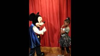 Mickey Mouse singing Happy Birthday to my NaNa!