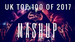 UK Top 100 Mashup | Best of 2017 International Pop Mashup | New Year Mashup 2018 [ +100 Song]