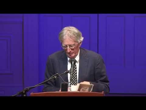 Charles Wright Inaugural Reading As Poet Laureate