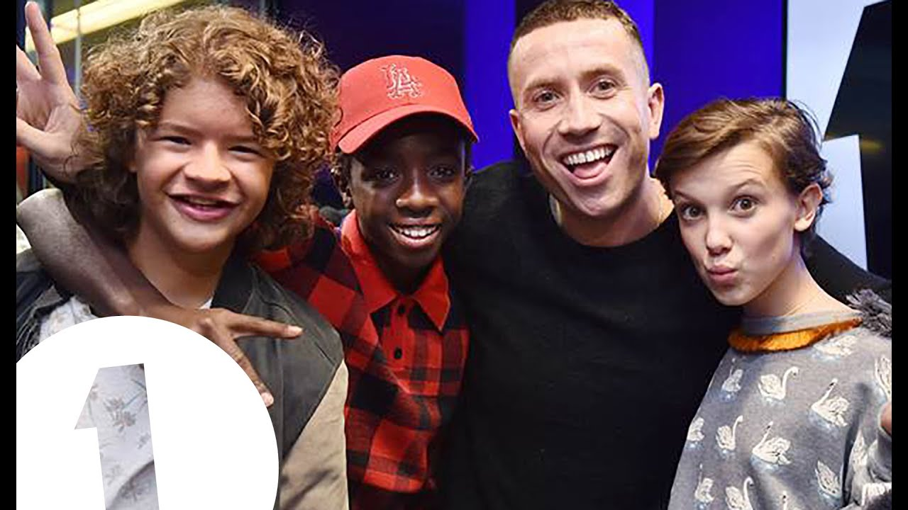 The cast of stranger things with grimmy youtube m4hsunfo