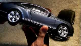 Bentley Continental GT 2011 Minichamps 1/18 - Critical review-