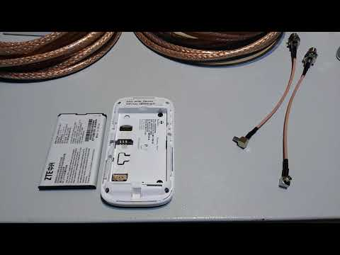 Комплект для интернета 3G/4G WIFI роутер ZTE MF90 + антенна Petra MIMO 75