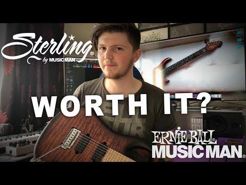 Music Man JP7 vs Sterling JP157 - John Petrucci Signature Guitars