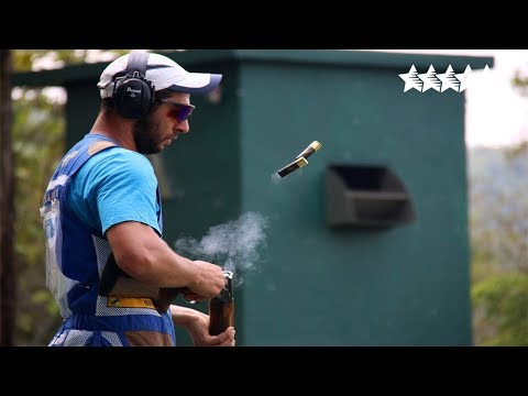 Shotgun Skeet Men Final - 2018 FISU WUC Shooting Sport  Kual