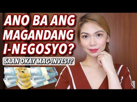 ANO ANG MAGANDANG NEGOSYO? SAAN OKAY MAG-INVEST? | NEGOSYO TIPS EP.3 Candy Inoue ♥️