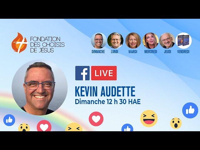Facebook Live quotidien 30/05/2021 - Peu importe où tu es, quoique tu fasses, Je suis avec toi