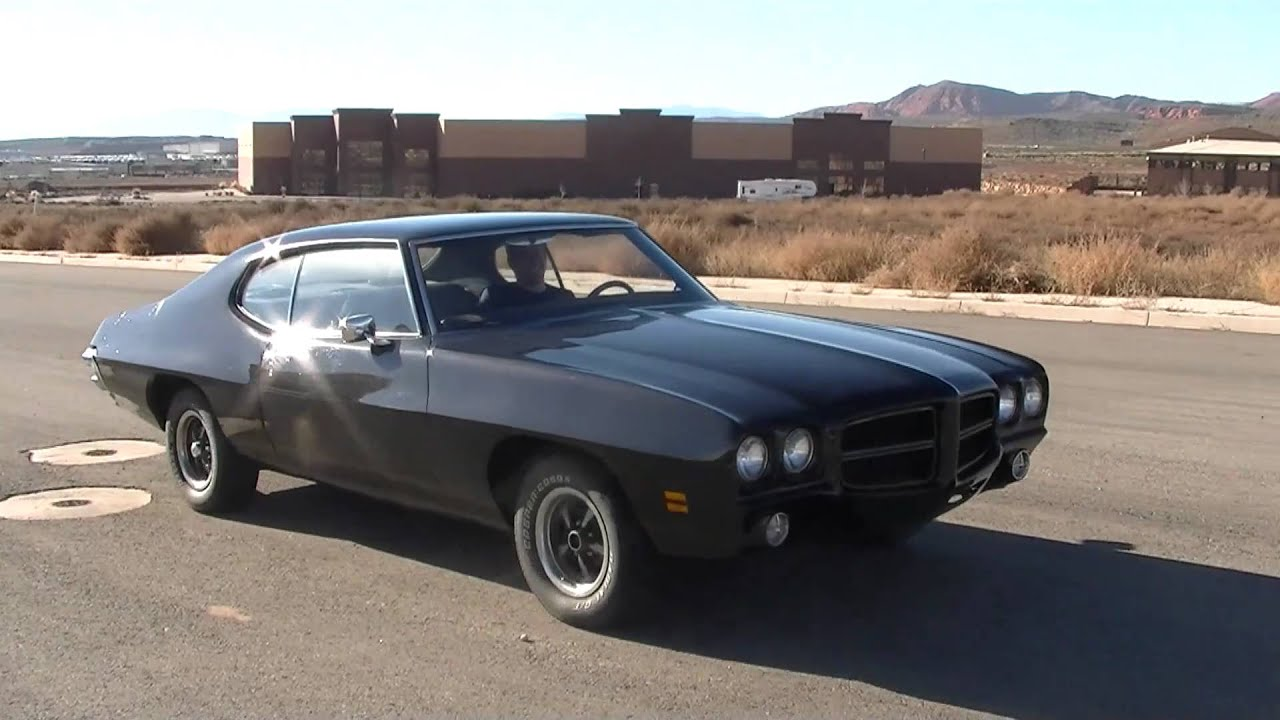 72 Pontiac Lemans Youtube
