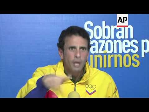 Capriles: Country must unite against govt injustice