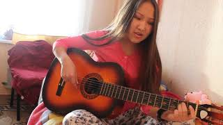 Гитаристка из Тувы