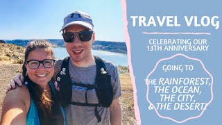 Camping during​ a thunderstorm!! | TRAVEL VLOG | Celebrating our 13th Anniversary