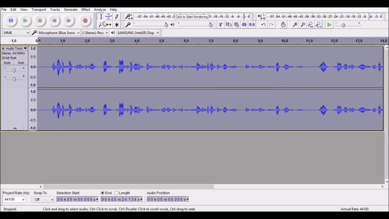 audacity tutorial apply a radio effect to your voice recordings youtube. Black Bedroom Furniture Sets. Home Design Ideas