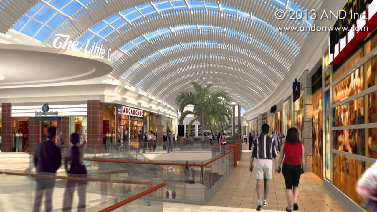 And inc architectural animations 2013 retail mall for Total interior designs inc