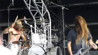 Obituary - Visions In My Head & Violence (New songs) at Bloodstock, 10th August 2014