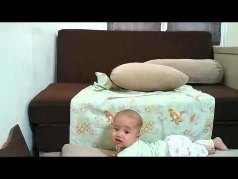 Bayi Alghiz 4 bulan jatuh dari ketinggian