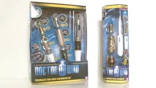 DOCTOR WHO Personalise your Trans-Temporal Sonic Screwdriver Set | Votesaxon07