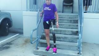 Dana, Hip Disarticulate: Learning How To Walk, Climb Up/Down Stairs and Ramps