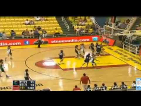 Centro Basket Femenino 2012 -Republica Dominicana medalla de Bronce vs Mexico highlights
