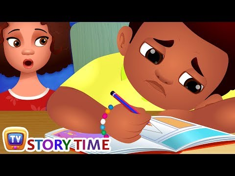 Chika and His Homework - ChuChuTV Storytime Good Habits Bedtime Stories for Kids