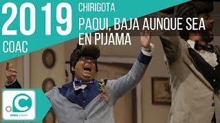 Chirigota, Paqui, baja aunque sea en pijama - Cuartos