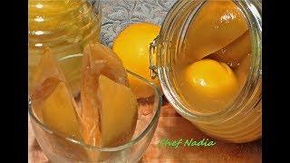 تحضير الليمون المصير او الحامض المرقد الشيف نادية