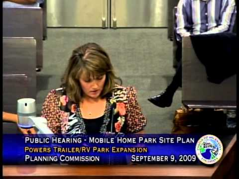Planning Commission - September 9, 2009