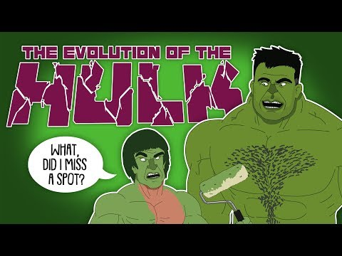 The Evolution Of The Hulk (Animated)
