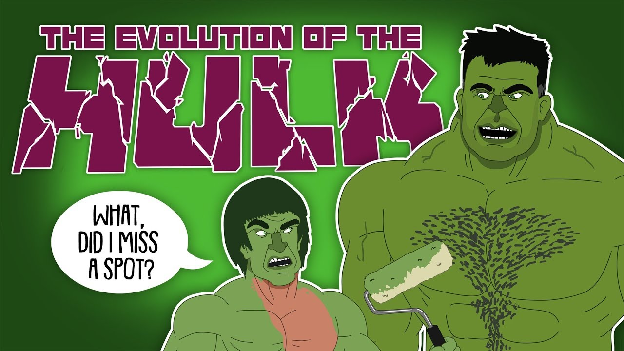 Download The Evolution Of The Hulk (Animated)