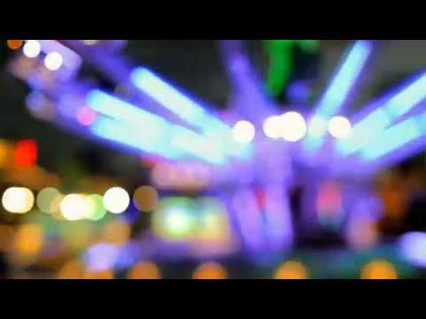 Blurry Carnival Ride Lights Motion Background - YouTube