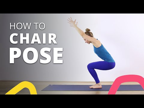 Chair Pose for Beginners: Step-By-Step Yoga Tutorial (+ Health Tips)