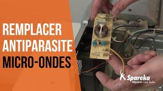Comment réparer votre four à micro-ondes - Remplacer l'antiparasite ?