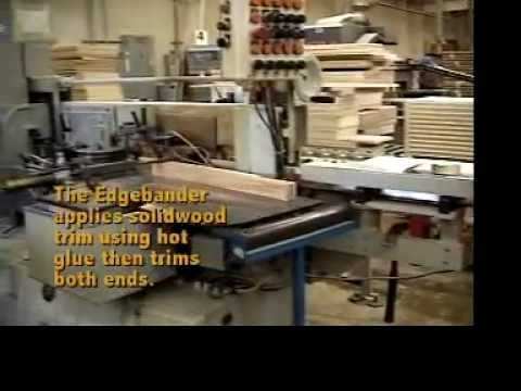 Baker Road Furniture Factory Tour   YouTube