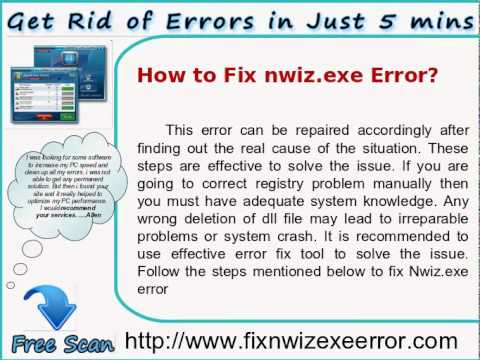 Save your PC from Nwiz.exe error