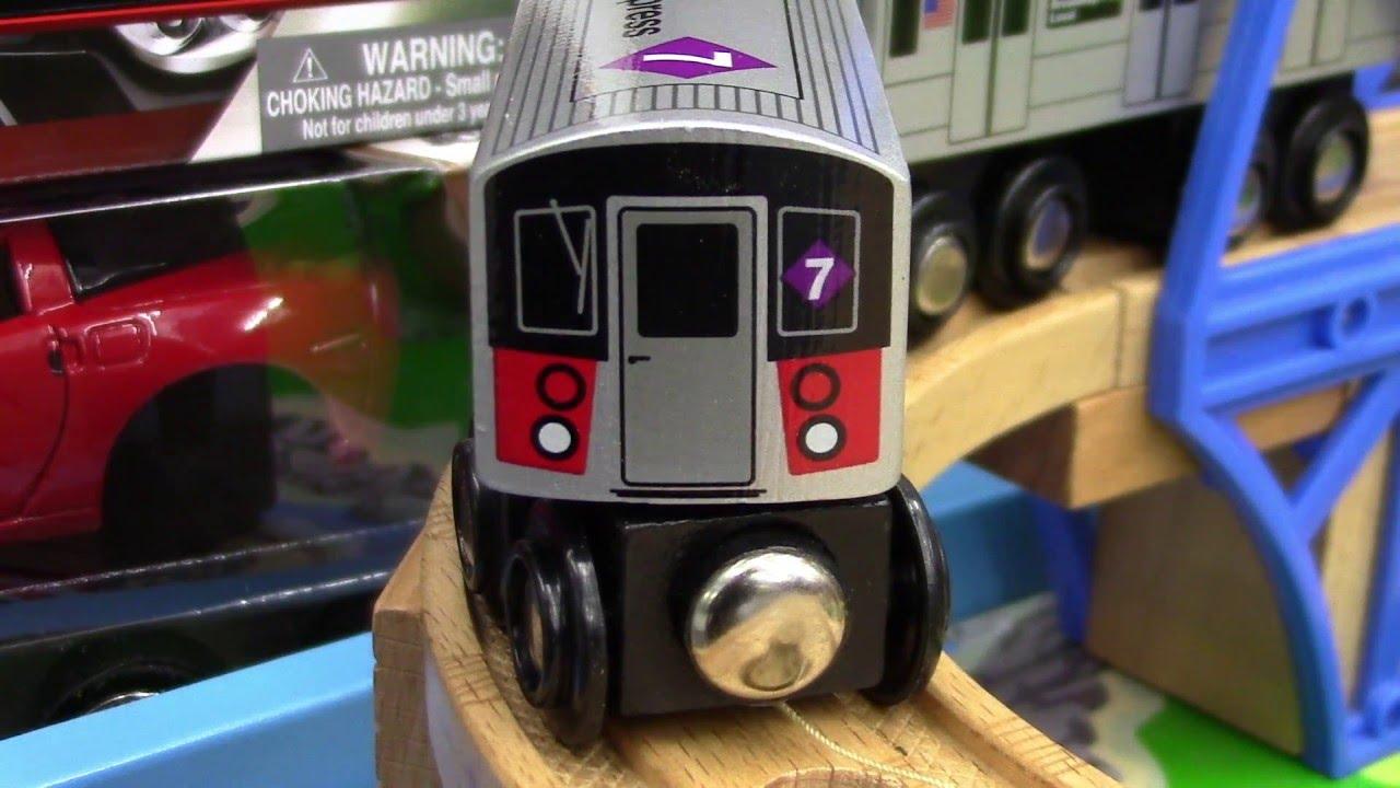 Munipals Wooden Nyc Mta Subway Train Youtube