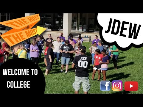 JDew's Greenville Technical College Orientation Pep Rally