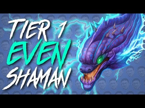 IS EVEN SHAMAN THE NEW KING? - Standard Constructed - The Witchwood