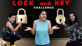 LOCK and KEY CHALLENGE   Funny Family Challenge   Aayu vs Pihu   Aayu and Pihu Show