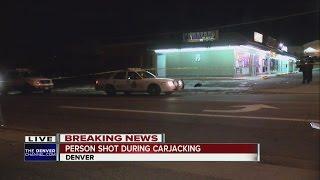 Driver shot, pickup truck stolen in carjacking in Denver