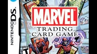 Unboxing y Gameplay Marvel Trading Card Game (Nintendo DS) By Snapdragon.