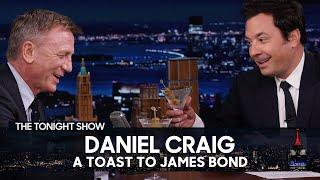 Daniel Craig Reflects on His Explosive James Bond Legacy | The Tonight Show Starring Jimmy Fallon