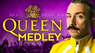 The Definitive Queen Medley. You needn't ever watch another video. ...
