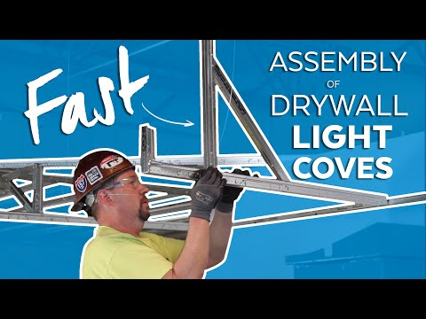 Fastest Suspended Drywall Light Coves - Tips, Tricks & Pitfalls for the Job-Site