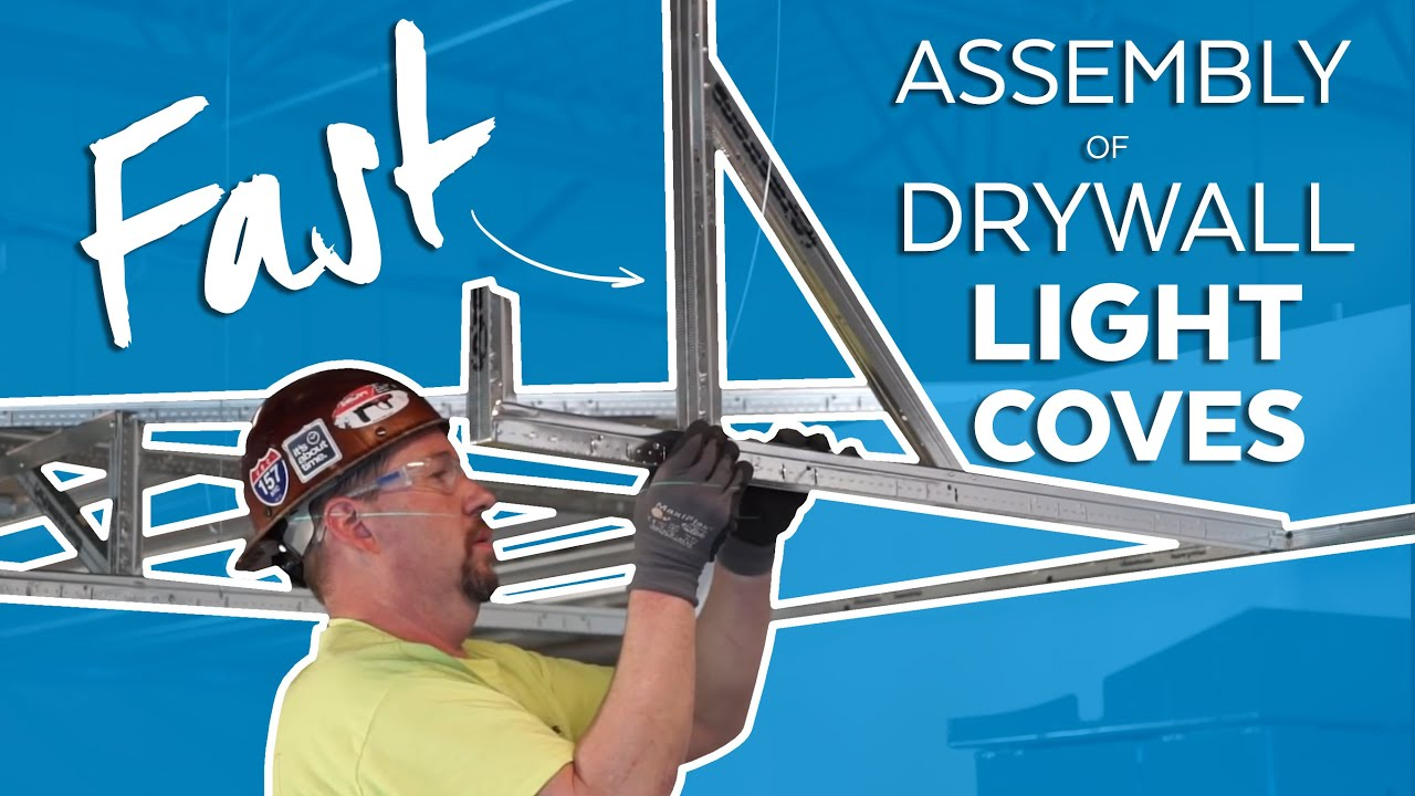 Fastest Suspended Drywall Light Coves Tips Tricks Pitfalls For The Job Site