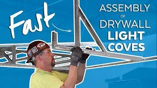 Fastest Suspended Drywall Light Coves - Tips, Tricks & Pitfalls for the Job-Site